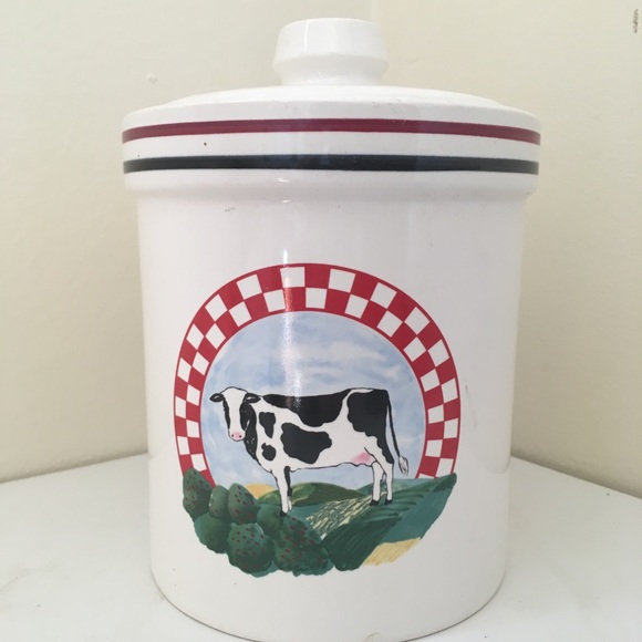 Other - Cow Canister by Century of Japan